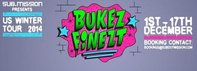 Bukez Finezt Announces US Leg of Winter Tour